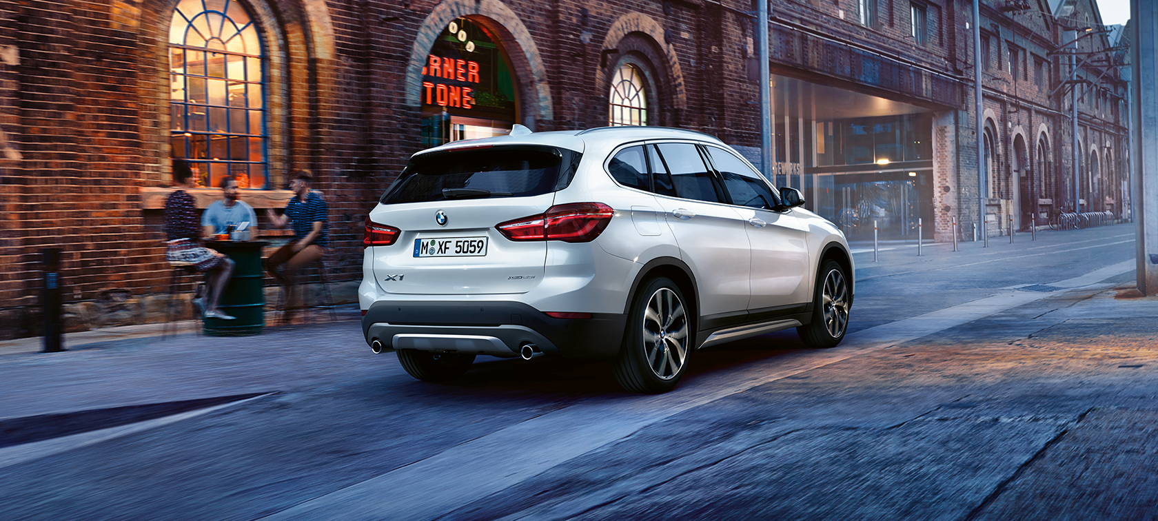 Comfort & Functionality in the BMW X1
